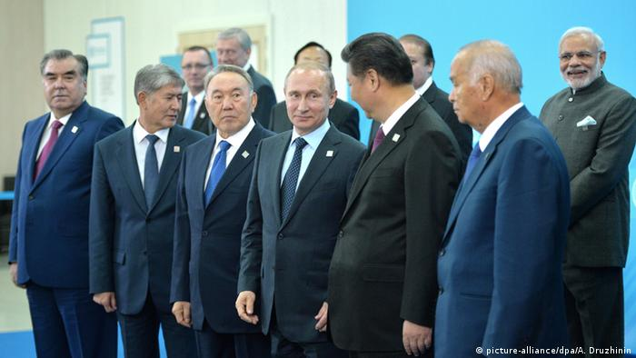 Russland Treffen SCO