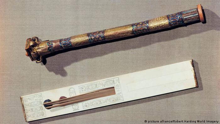 Тростниковая кисть из гробницы фараона