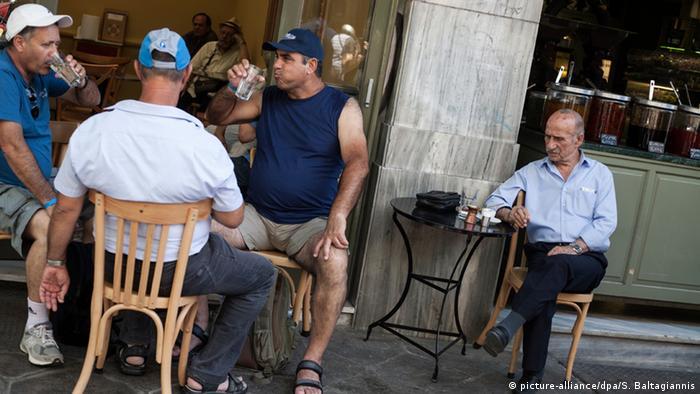 Кафене в Атина