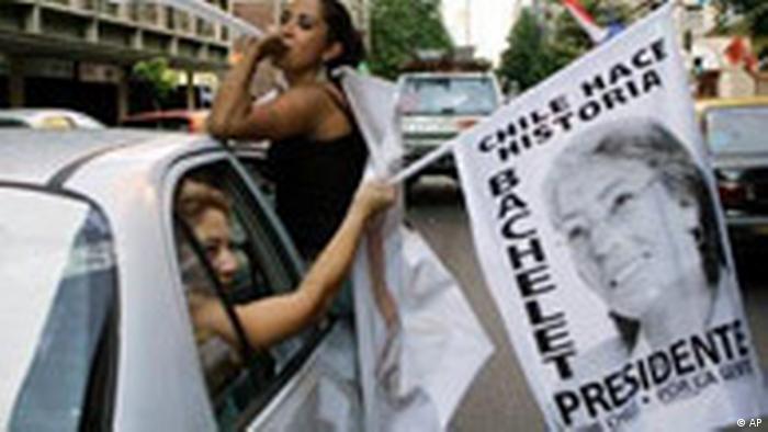 Chile Wahlen Michelle Bachelet Reaktionen