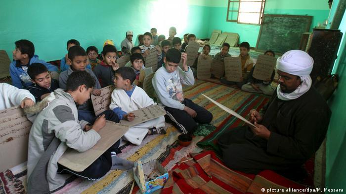 Algerien Stadt Ghardaia Koranschule