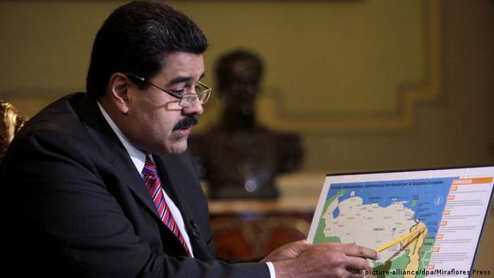 Venezuela Nicolas Maduro shifted his focus to Guyana when offshore oil exploration began
