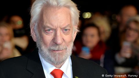Donald Sutherland Portrait im Alter (Getty Images/A. Harvey)