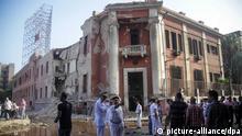 Anschlag vor italienischem Konsulat in Kairo