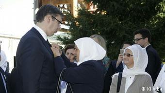 Vucic Srebrenica