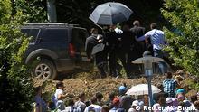 Serbiens Regierungschef von Gedenkfeier in Srebrenica vertrieben