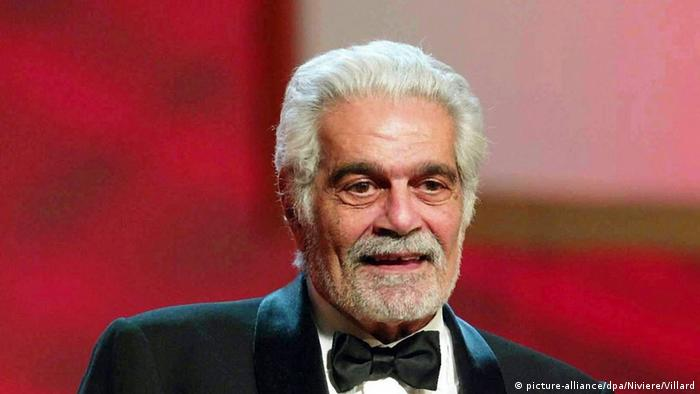 Omar Sharif bei der Verleihung der Cesar-Filmpreise am 21.2.2004 in Paris (picture-alliance/dpa/Niviere/Villard)