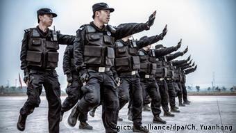 SWAT Polizei China