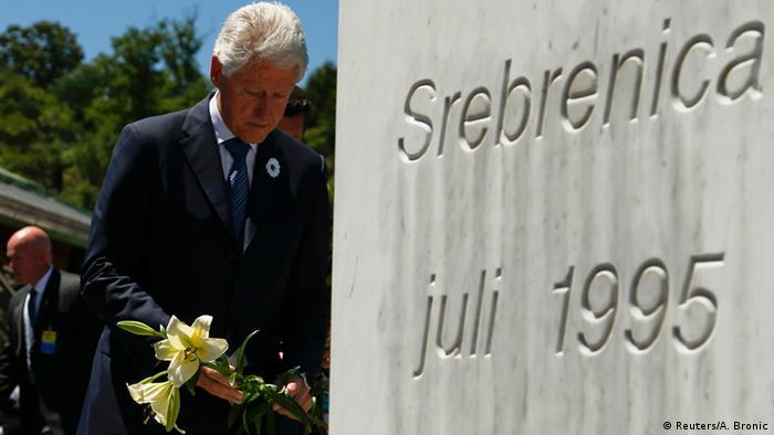 Američki predsjednik Bill Clinton je u martu 2003. godine otvorio Memorijalni centar Srebrenica-Potočari. Prvih 600 identificiranih žrtava genocida je pokopano 31. marta, dok je još 118 našlo svoj smiraj 11. jula iste godine, na osmogodišnjicu genocida.