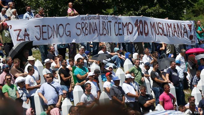 Riječi koje je sadašnji premijer Srbije izgovorio kada je bio pripadnik Srpske radikalne stranke u Skupštini Srbije 20. jula 1995., samo 11 dana nakon što je genocid u Srebrenici počinjen.