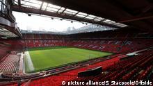 Stadion Old Trafford von Manchester United