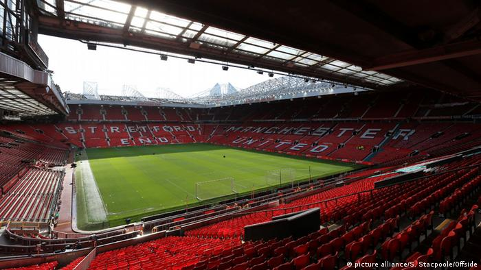 Stadion Old Trafford von Manchester United (picture alliance/S. Stacpoole/Offside)