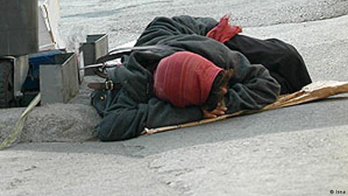 Iran Obdachlose Frauen (Bildergalerie) (Isna)