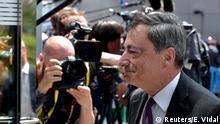 Brüssel Finanzministertreffen Mario Draghi