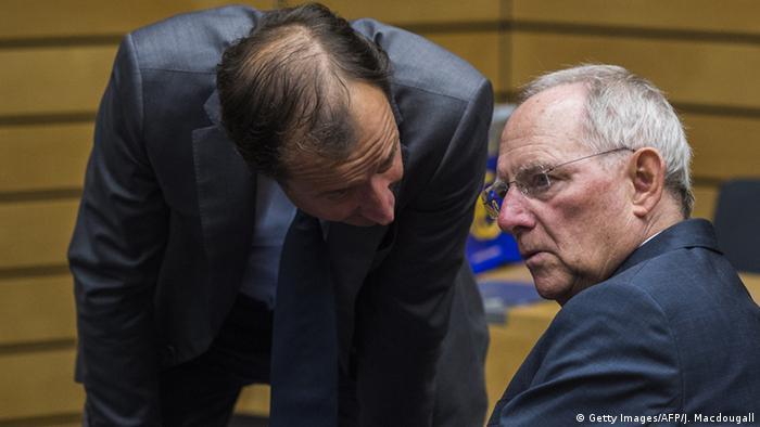 Brüssel Finanzministertreffen Wolfgang Schäuble