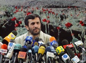 Iranian President Mahmoud Ahmadinejad has called the Holocaust a myth