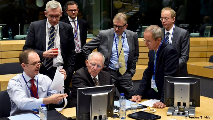 Belgien EU Finanzministertreffen in Brüssel (Reuters/E. Vidal)