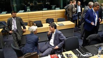 Belgien EU Finanzministertreffen in Brüssel