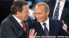 Deutschland Gerhard Schröder und Wladimir Putin und in Hannover