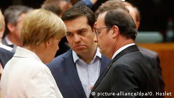 Merkel Tsipras Hollande
