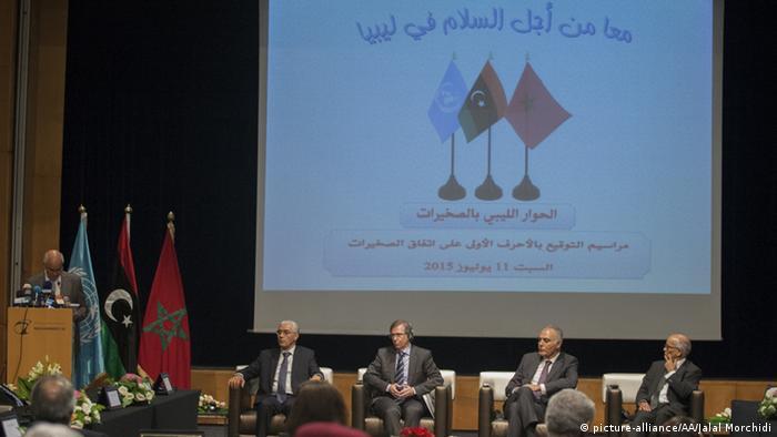 Marokko Politische Parteien in Libyen stimmen UN-Friedensplan zu
