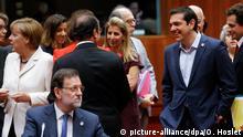 Brüssel EU Regierungsgipfel zu Griechenland Merkel Tsipras Rajoy Hollande