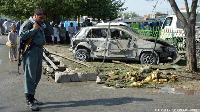 Afghanistan Kundus Selbstmordanschlag