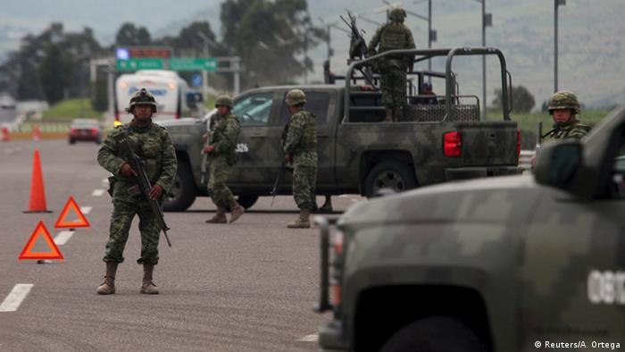 Mexiko Drogenboss Joaquin El Chapo Guzman aus Gefängnis ausgebrochen