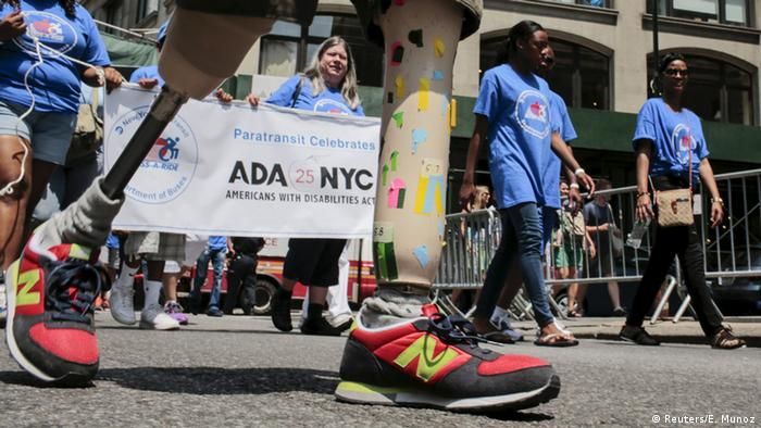 Disability Pride Parade in New York, USA. (Foto: Reuters)