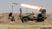 Irak Offensive gegen IS-Terrormiliz in Anbar