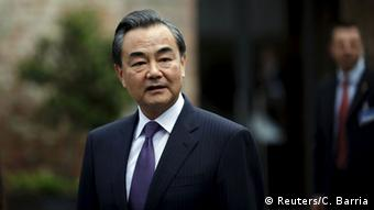 Chinas Außenminister Wang Yi (Foto: Reuters)