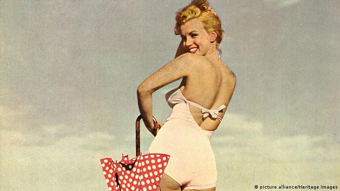 Geschichte des Badeanzugs Marilyn Monroe