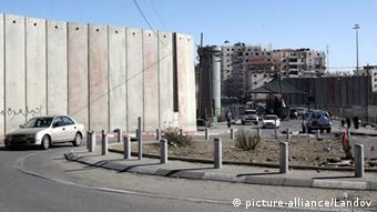 Israelischer Checkpoint in Ostjerusalem Shuafat