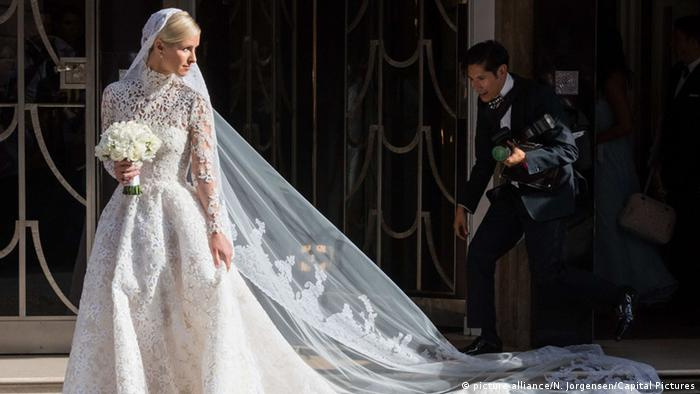 Nicky Hilton und James Rothschild Hochzeit (picture alliance/N. Jorgensen/Capital Pictures)