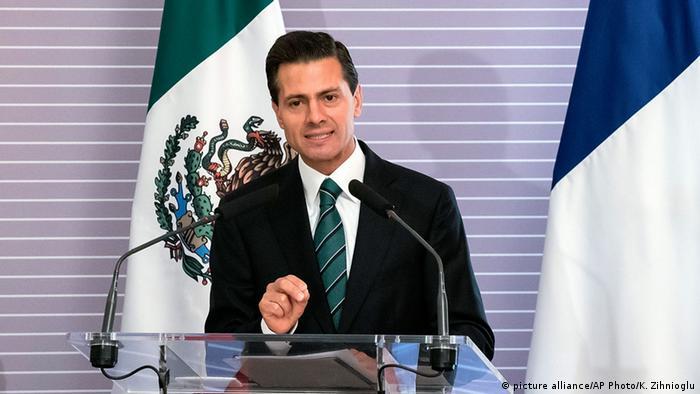 Frankreich Meixiko Präsident Enrique Pena Nieto zu Besuch in Paris