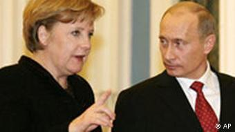 Angela Merkel in Russland Moskau Wladimir Putin