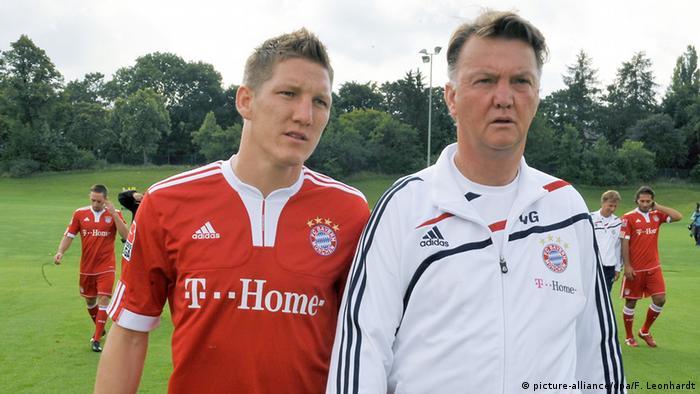 Deutschland Fußballer Bastian Schweinsteiger (picture-alliance/dpa/F. Leonhardt)