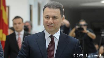 Mazedonien Ministerpräsident Nikola Gruevski