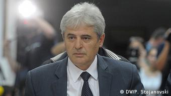 Mazedonien Demokratische Union für Integration - Ali Ahmeti (DW/P. Stojanovski)