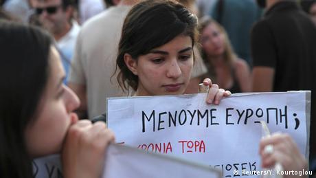 Griechenland Demonstration in Athen