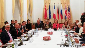 Österreich Palais Coburg Gespräche Iran Nuklearprogramm