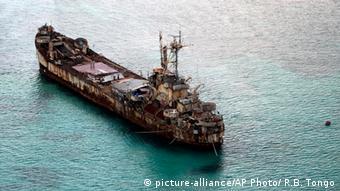 Sierra Madre Schiff Phillippinen Chinesisches Meer