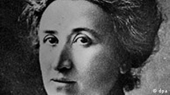 Die deutsche Sozialistin Rosa Luxemburg