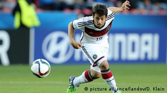 German football player Amin Younes (picture alliance/landov/D. Klein)
