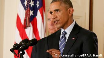 Barack Obama Iran Nuclear Vertrag Einigung Atom Deal