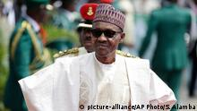 Präsident von Nigeria Muhammadu Buhari
