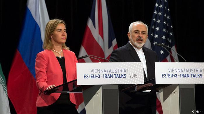 بیانیه فدریکار موگرینی و محمد جواد ظریف پس از اعلام توافق جامع هستهای در وین