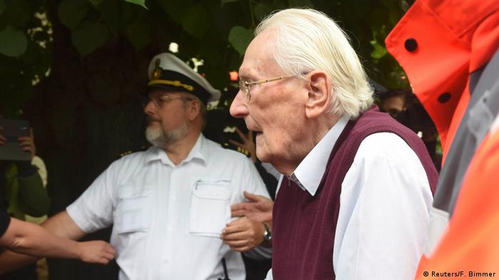 Deutschland Prozess Oskar Gröning in Lüneburg Urteil