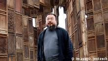 Deutschland Kassel Documenta Kunstwerk von Ai Weiwei eingestürzt