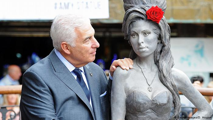 Amy Winehouse's Vater Mitch, 2014